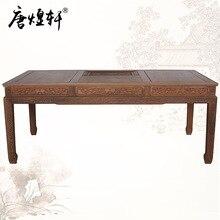 Mahogany furniture, tea tables factory direct wenge wood Chinese antique tea table kung fu tea tables tea table