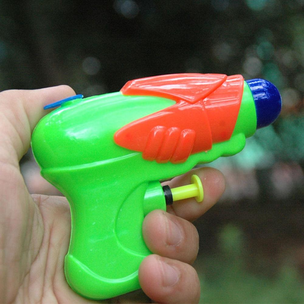 Summer Kid Mini Water Gun Baby Beach Toy Party Garden Bath Toys Swimming Drifting Transparant Squirt Random Color Gun