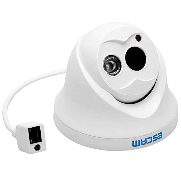 Original Escam OWL QD100 720P IP Camera Network IR-Cut P2P IR Night Vision P2P IP Camera Motion Detection Security Camera