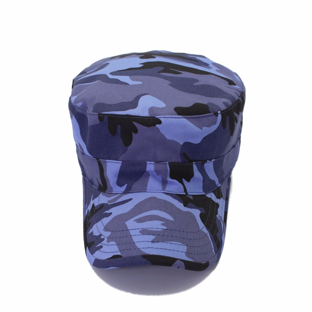 a92c7172181 New blue camouflage patrol flitted army flat caps army cadet top jpg  1000x1000 Blue camo baseball