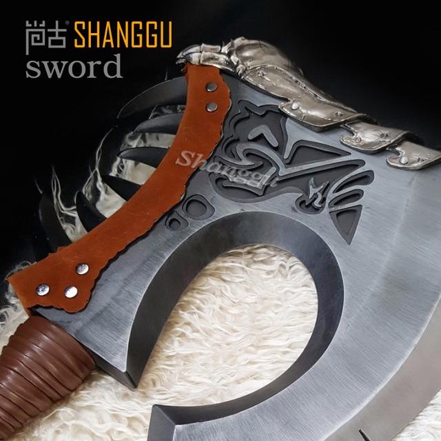 World of Warcraf Grom Hellscream Gorehowl Tribal warriors Warsong Clan Roar of blood Tomahawk Sword 1
