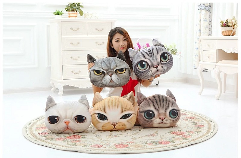 Cat cartoon PIllow