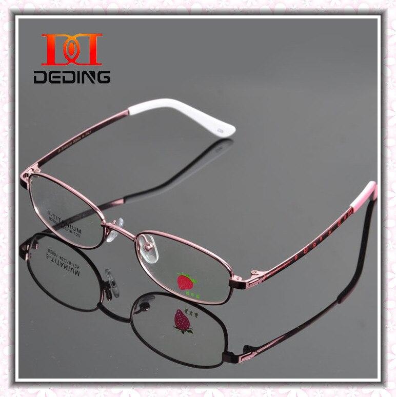 2014 nouveaux étudiants Ultra - léger Full Metal - encadrée lunettes  garçons filles myopie optique monture de lunettes de Oculos de métal DD0598 acd0ab8913ed
