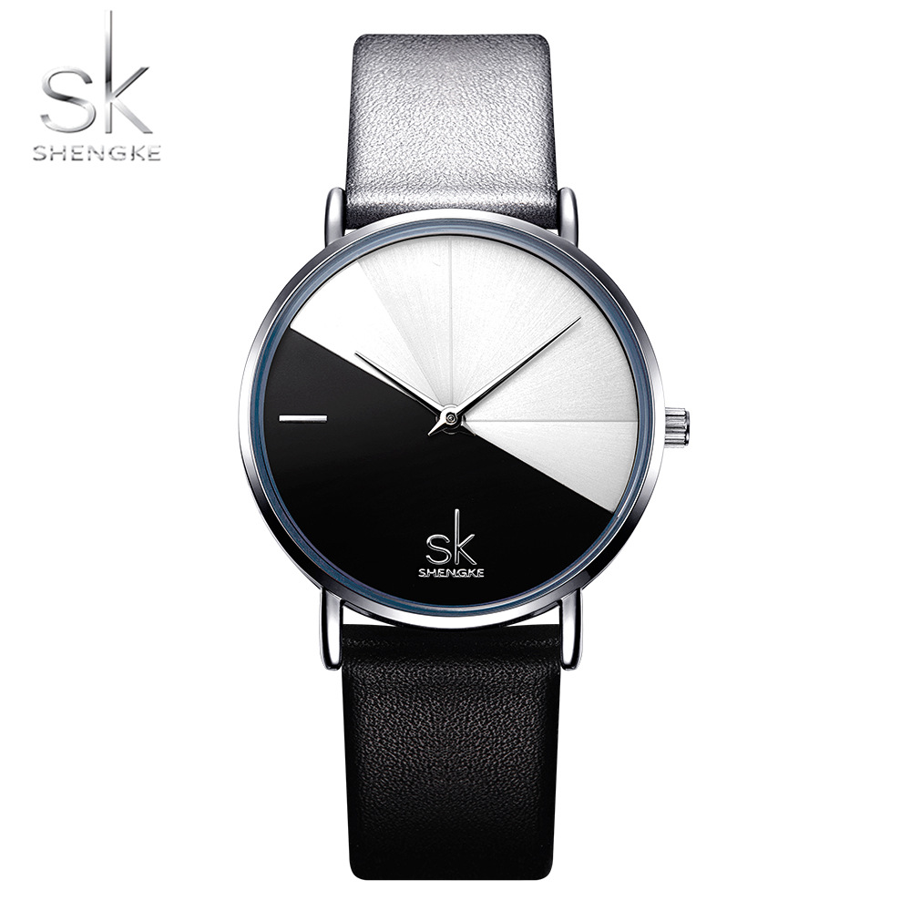 Shengke Relogio Feminino Women Watches Girl Quartz Watch Casual Leather Ladies Dress Watches Women Clock Montre FemmeShengke Relogio Feminino Women Watches Girl Quartz Watch Casual Leather Ladies Dress Watches Women Clock Montre Femme