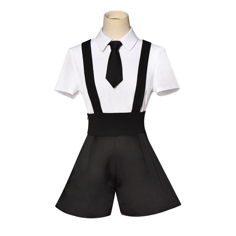 Free Shipping Short Sleeves Girl School Uniform Halloween Cosplay Costume Customize for plus size adults