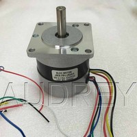 57BLDCS Brushless DC Motor 36V 4000rpm 46W 6.8A Square motor end cover Circle the fuselage Hall feedback 3 phase Commutator