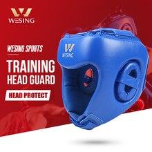Wesing, боксерский шлем, Санда, тренировочный головной убор для бокса, муай-Ай, головной убор, тайский шлем для кикбоксинга, защита головы