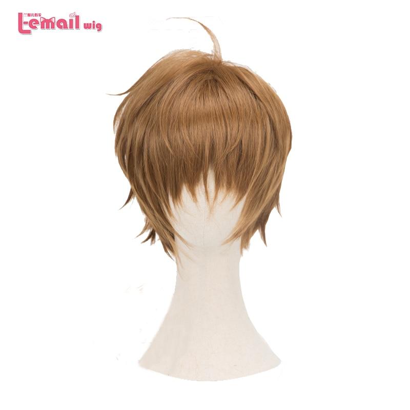Anime New Card Captor Sakura CLEAR CARD Li Syaoran Cosplay Hair Wig+Track