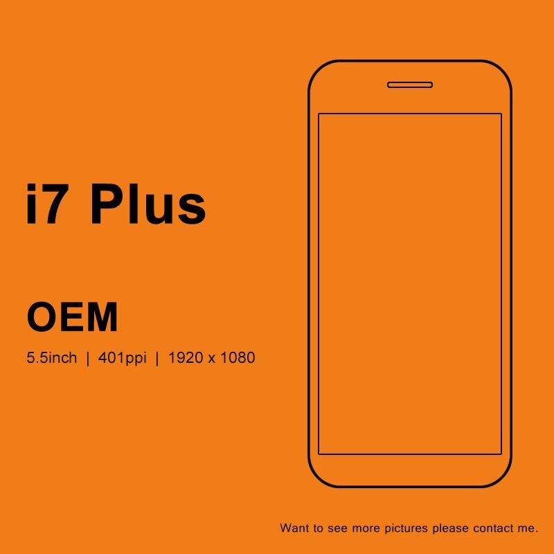 3 pièces OEM LCD 5.5 pouces pour iphone 7 Plus écran LCD avec bon remplacement de l'assemblage de numériseur d'écran tactile 3D pour iphone 7 Plus