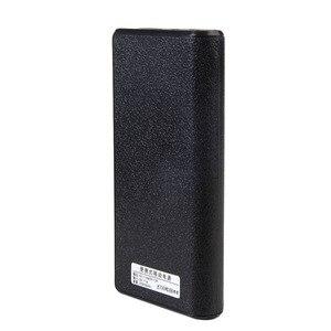 Image 4 - 1 قطعة بنك الطاقة مزدوجة USB 6x18650 بطارية احتياطية خارجية شاحن مربع حالة للهاتف
