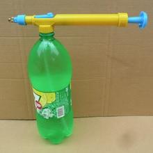 Горячая Мини бутылки сока интерфейс пластиковые тележки пистолет распылитель головы давление воды
