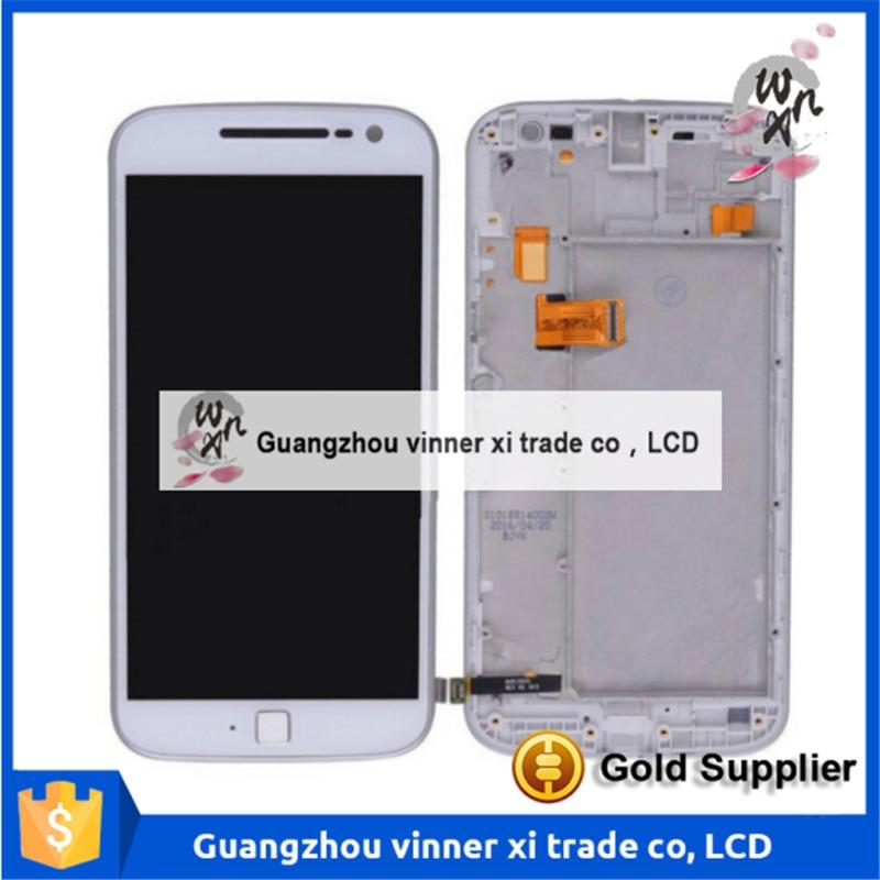 5.5 pulgadas del teléfono móvil original lcd + digitalizador asamblea marco para