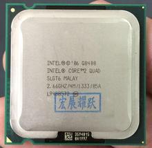 ПК компьютер Intel Core2 четырехъядерный процессор Q8400 (4 м кэш, 2,66 ГГц, 1333 МГц FSB) LGA775 настольный процессор
