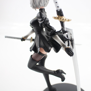 Image 5 - 25cm NieR Automata YoRHa No. 2 Type B 2B Banpresto PVC Action Figure Collection Model Toy Doll Gifts For Kids