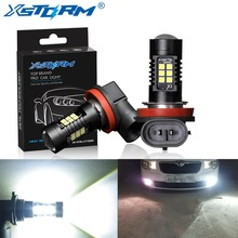 2Pcs H8 H11 Led Bulb HB4 Led HB3 9006 9005 Fog Lights 1200LM 6000K 12V White DRL Daytime Running Car Lamp Auto Light Bulbs