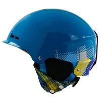 CE Belgelendirme Kayak Kask Kayak Kask Erkek Kadın Kar Kask Boyutu 56-62 CM Sking Snowboard Kaykay Kask