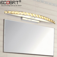 ECOBRT New Crystal Wall Lamps 18W Indoor led Wall Sconces Modern Style 70cm Long Wall Mounted Lamps