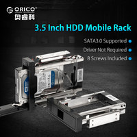 ORICO 1106SS BK CD ROM Space Hard Disk Mobile Rack Internal 3 5 Sata Hdd Case