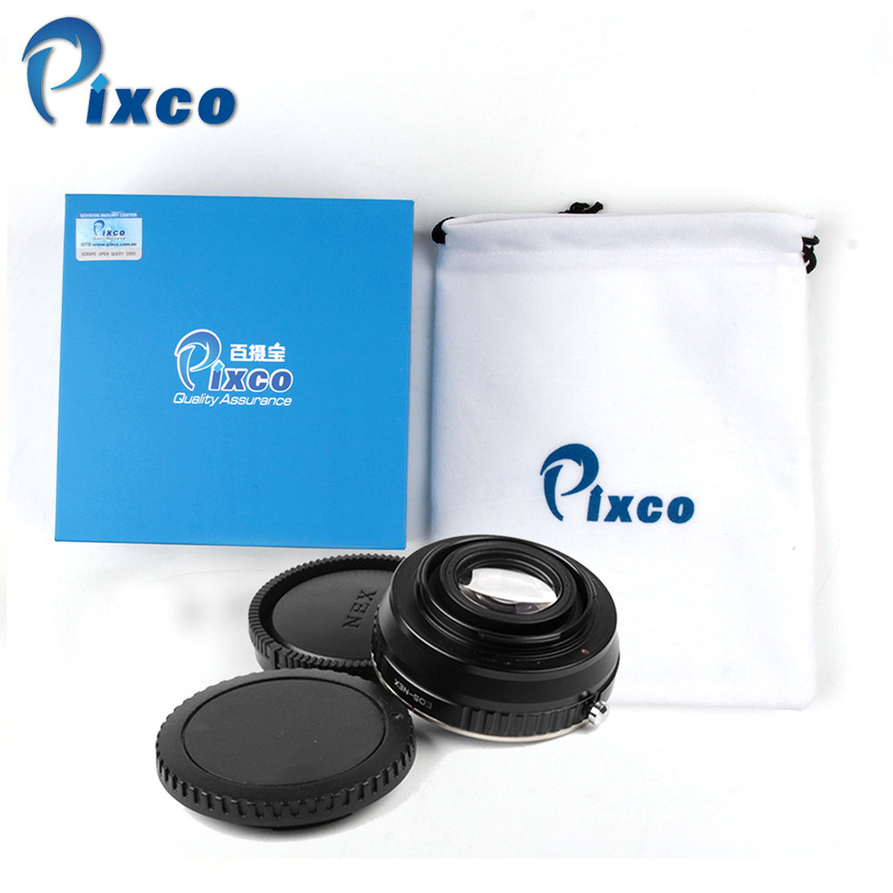 Pixco From China + 2 Gift, US, UK, Speed Booster Focal Reducer Lens Adapter Suit For Canon EF Lens to Sony E Mount NEX Camera цена