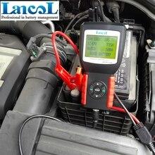 Lancol MICRO-468 12 В автомобиля Батарея Тестер диагностический инструмент SOH SOC cca ИК автомобиля 12 В начать Батарея обнаружения автомобиль Батарея анализатор