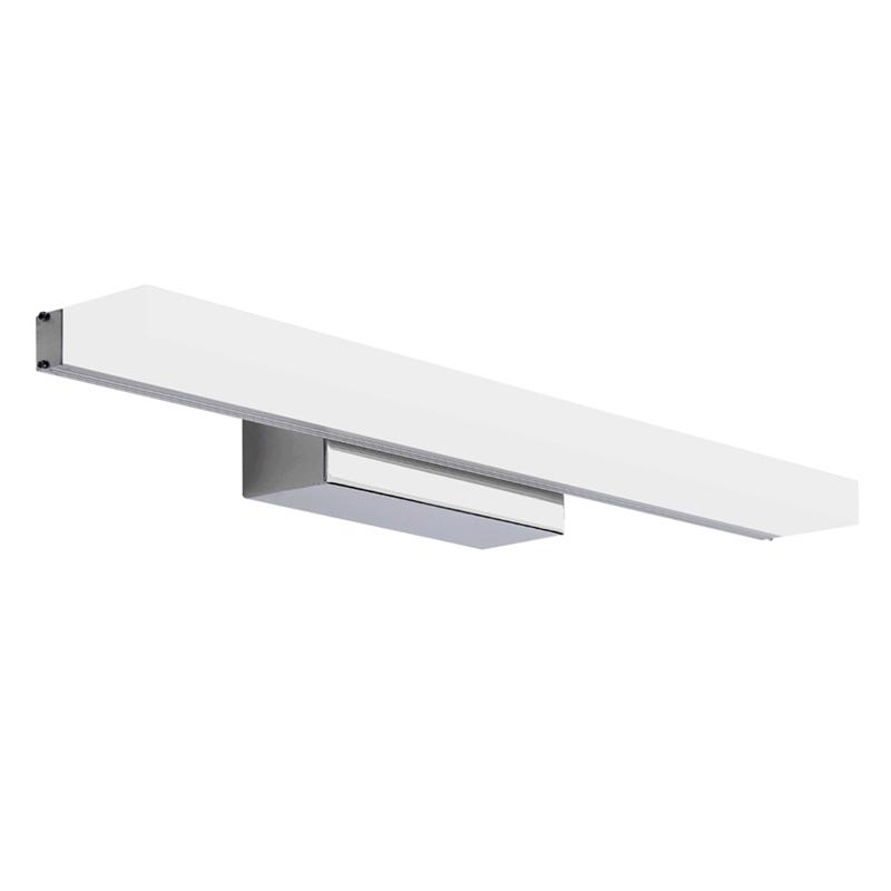 80CM Modern Bathroom Mirror Front LED Light Waterproof Anti-Fog Vanity Light Lamp Wall Lamp With Stainless Steel Base 40cm 12w acryl aluminum led wall lamp mirror light for bathroom aisle living room waterproof anti fog mirror lamps 2131