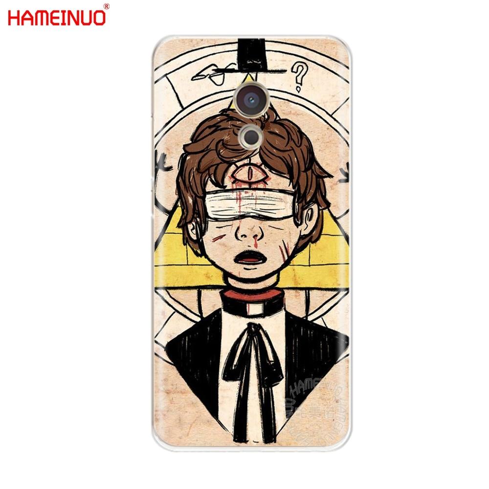 HAMEINUO bipper pato gravity falls anime Cover phone Case for Meizu M6 M5 M5S M2 M3 M3S MX4 MX5 MX6 PRO 6 5 U10 U20 note plus