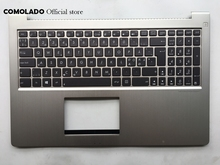 ND Nordic Keyboard for ASUS UX51 UX51VZ Palmrest with C cover backlight laptop keyboard ND Layout стоимость