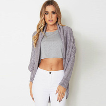Fnboled Sweater Women Knitted Casual White Sweaters Cardigans Loose Solid Winter Slim Jumper Soft Autumn Sweater AO091405