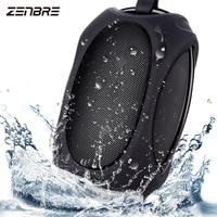 Bluetooth Speakers ZENBRE D4 2x3W IPX5 Waterproof Bluetooth Speaker Portable Outdoor Speakers with 12 Hours Play Time