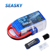 SEASKY 4S LiPo Battery 14.8V 1500mAh 75C RC battery lipo XT60 bateria for FPV drone