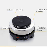 220V Electric Stove Oven Cooker Multifunctional Mini Coffee Heater Mocha Heating Hot Plates For Heating Coffee Milk
