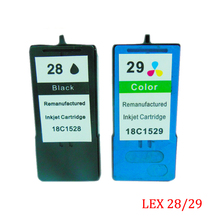 2PC Einkshop For Lexmark 28 29 Ink Cartridge Lexmark28 for lexmark X5070 X5075 X5320 X5340 X5410 X5495 Printer ink
