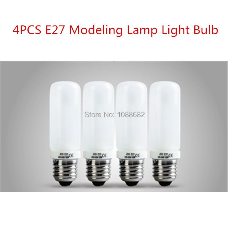 4PCS 150W 3200K E27 Modeling L& Light Bulb for Photo Studio Flash Strobe Studio Continuous Lighting ...  sc 1 st  AliExpress.com & Jadkinsta 4PCS 150W 3200K E27 Modeling Lamp Light Bulb for Photo ...