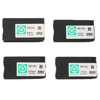 1 Full Set Compatible HP HP 950XL 951XL Ink Cartridge Set For HP Jet Pro 8100