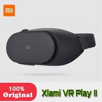 המקורי Xiaomi Mi VR לשחק השני VR קרטון תיבת משקפיים מציאות מדומה 3D Immersive עבור טלפונים חכמים 4.7-5.7 Inches