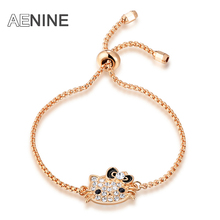 Valentine's Gift Gold Color Czech stone ladies bangle bracelets for women fashion jewelry bracelets B150160358R