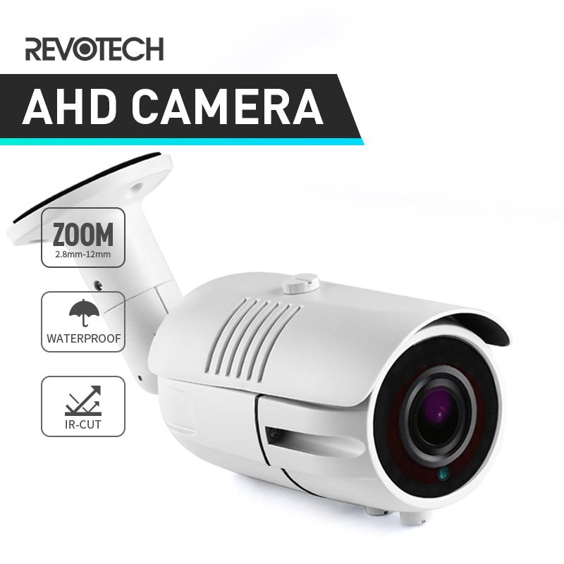 720P 1080P CCTV AHD Camera 42 LED 2 8 12mm Zoom Waterproof Bullet Outdoor 1 0MP