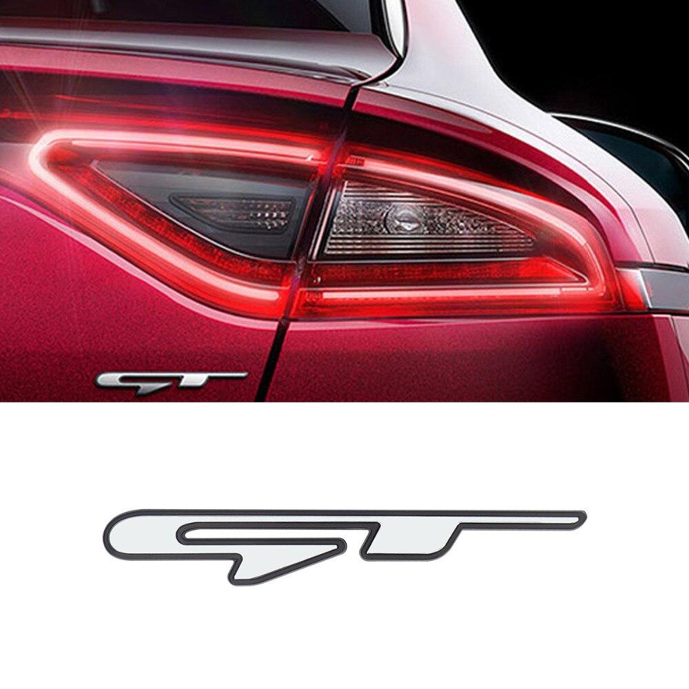 For kia optima k5 gt line stinger gt stereo 3d car sticker styling emblem badge sticker size rear tail trunk decorative stickers
