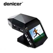 Denicer Ultra Clear Ночное видение автомобиля Регистраторы DVR Камера с духами Новатэк 96658 автомобильный регистраторы Full HD 1296 P видео регистраторы