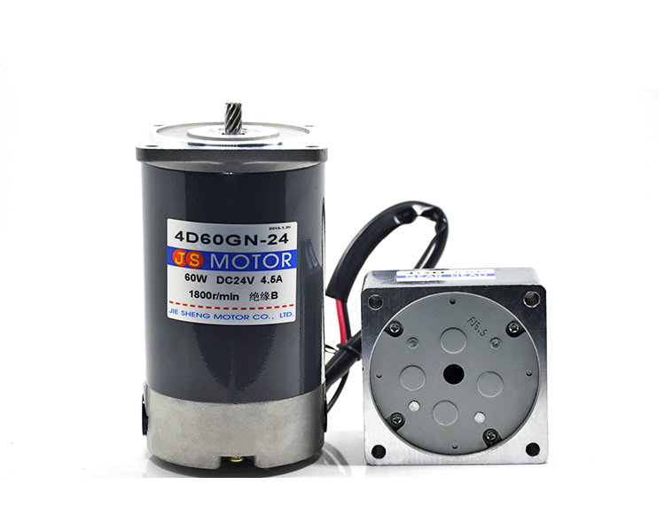 DC12V/24V 60W 5D60GN permanent magnet gear motor with adjustable speed Suitable for mechanical equipment, power tools,DIY,etc. ac220v 50hz 25w 1400 2800rpm permanent magnet speed control motor suitable for mechanical equipment power tools diy power etc