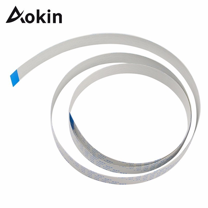 Aokin For Raspberry Pi Camera Flex Cable Extention 1m 15pin Ffc Wire For Raspberry Pi 3 Model B+ / 3 / 2
