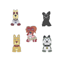 Fashion Cartoon Animal Brooch Metal Enamel Pins Badge 5 style Cute Dogs Shirt Sweater Denim Lapel Women Brooches