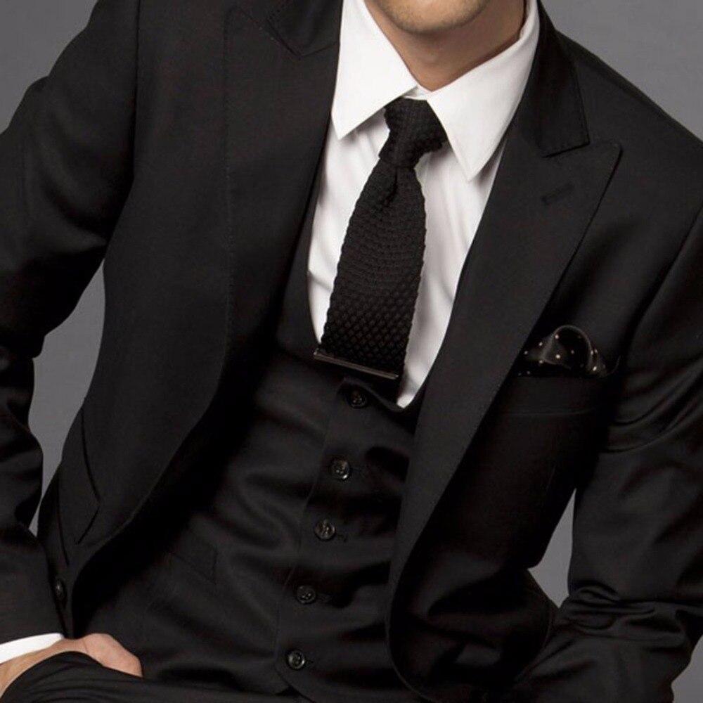 de de trajes negros negro Trajes de traje hombres para boda novio Yqna1 fa2b9e89e4e