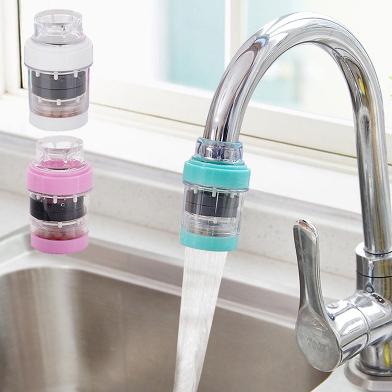 Household Mini Kitchen Faucet Filter Tap Water Purifier Medical Stone Magnetized Water Filter Tap Kitchen Bathroom Sink Tool