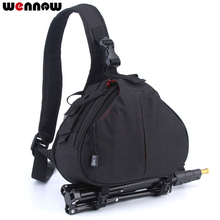 Wasserdicht Rucksack Schulter Kamera Tasche Fall für Canon EOS R 80D 1300D 800D Nikon Z7 Z6 D3500 D3400 D5600 Sony a7 iii a77 a7iii