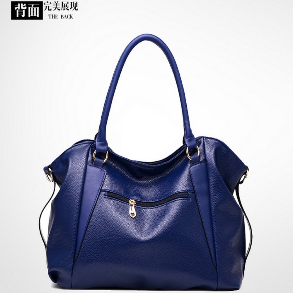 KLY 100% Genuine leather Women handbag 2018 New Classic casual fashion  female Cross hand bag of bill of lading messenger bag-in Top-Handle Bags  from Luggage ... 9813352847d2