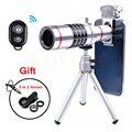 2017 Lentes Óptico de 18X Teleobjetivo Zoom lente Del Telescopio del teléfono Móvil lentes de microscopio para iphone xiaomi samsung galaxy nota 5 3 4