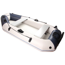 outdoor inflatable 3 preson inflatable boat fishing boat 230*115*30cm DWF floor Aluminium oar hand pump repair kit dinghy raft