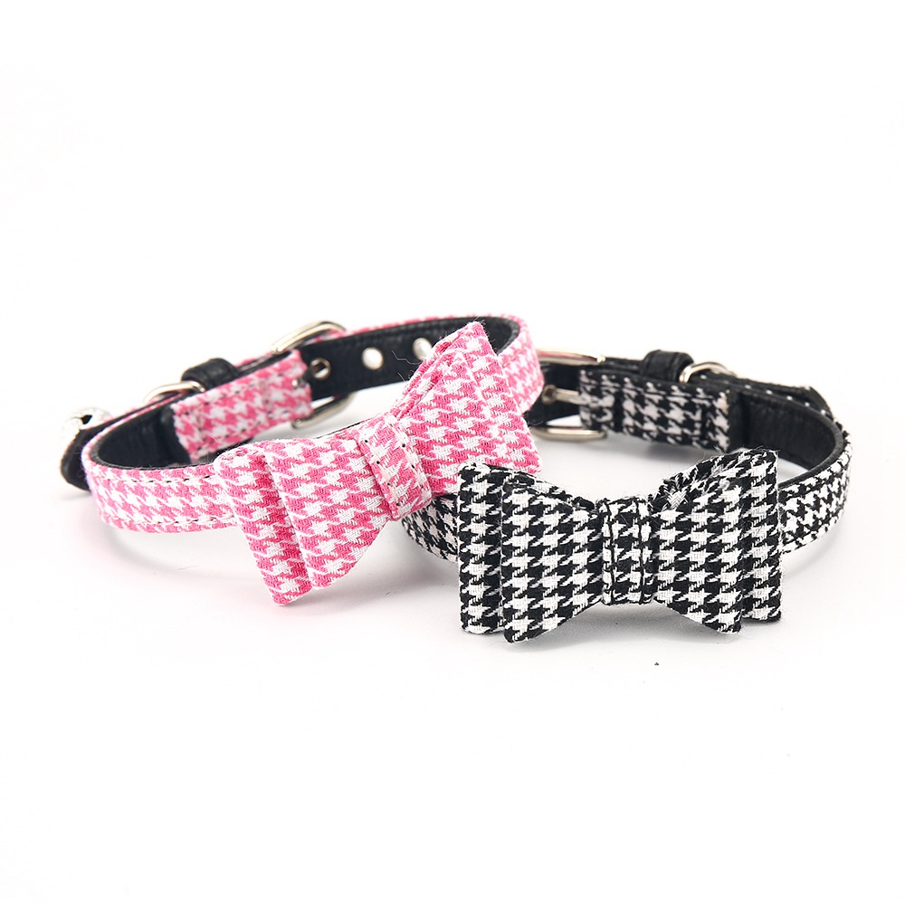 Cat Collar With Bell Dog Collar For Cats Solid Braid Kittens Pet Cat Collars Shiny Adjustable Collars For Cats Pet Lead Supplies (13)
