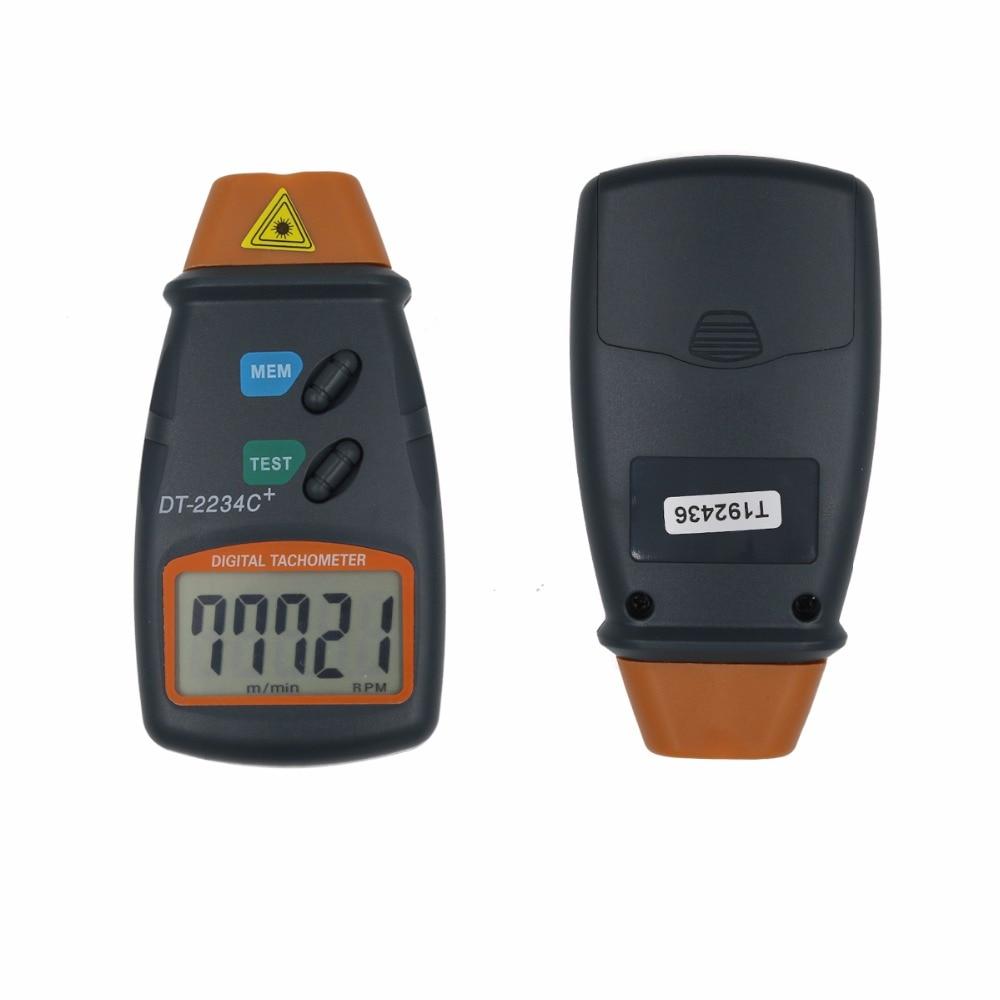 Non Contact RPM Tach DT-2234C Digital Laser Tachometer 2.5-99.999 RPM Electronic Photo Tachometer 20%off